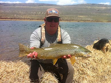 Fontenelle reservoir green river wyoming fly fishing for Green river fly fishing report